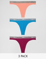 Calvin Klein Radiant Cotton 3 Pack Thong