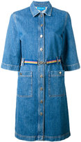 MiH Jeans denim shirt dress - women - Cotton - XS