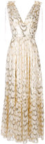 Temperley London Rider V-neck dress