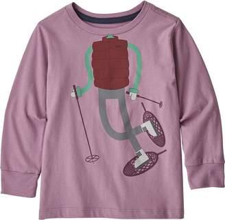Patagonia Graphic Organic Long-Sleeve T-Shirt - Toddler Girls'