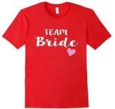 Women's Cute Women's Team Bride T-Shirt Wedding Bridesmaids XL