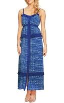 CeCe Women's Mix Ruffle Maxi Dress