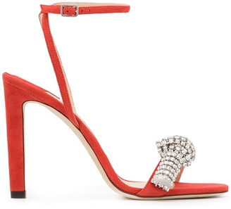 Jimmy Choo Thyra 100mm sandals