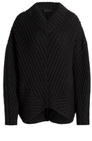 Thumbnail for your product : Proenza Schouler Wool Chunky Rib Sweater