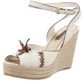 Louis Vuitton Platform Wedge Sandals