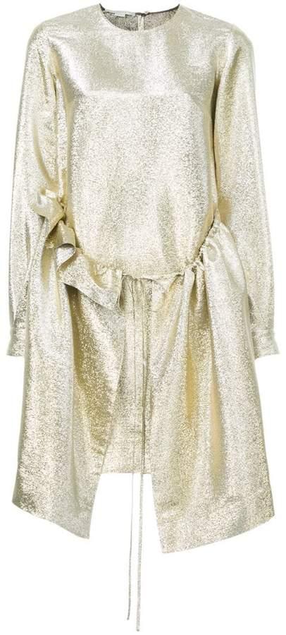 Stella McCartney long sleeved shimmer dress