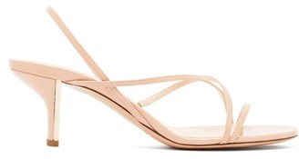 Nicholas Kirkwood Leelo Patent-leather Sandals - Womens - Nude