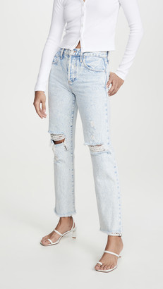 Alice + Olivia Amazing High Rise Boyfriend Jeans