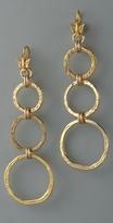 Cynthia Dugan Jewelry Large Circle Drop Earrings
