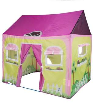 "Pacific Play Tents Cottage House Kids Play Tent 58"" x 48"""