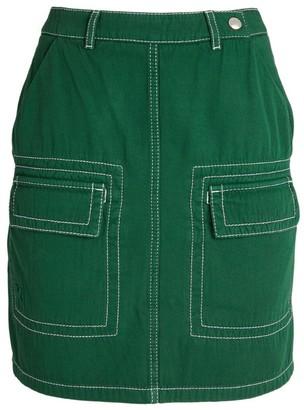 Kenzo Military Skirt