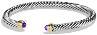 David Yurman Cable Classics Bracelet with Gemstone & 14K Yellow Gold