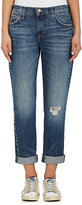 Current/Elliott WOMEN'S THE FLING STUDDED BOYFRIEND JEANS