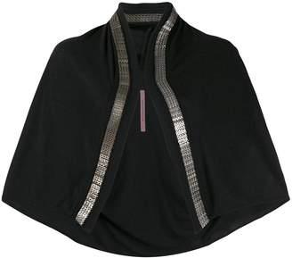 Rick Owens Lilies mesh chain cardigan