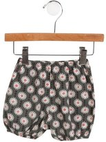 Caramel Baby & Child Girls' Floral Elasticized Bloomers