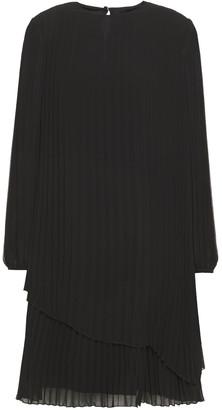 Paul Smith Layered Pleated Crepe Dress