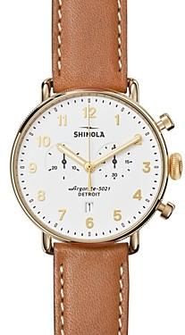 Shinola The Canfield Chronograph Watch, 43mm