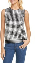 Ted Baker Syrenia Houndstooth Check Sleeveless Top