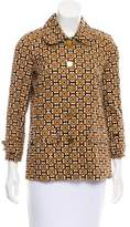 Tory Burch Printed Button-Up Jacket w/ Tags