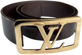 Louis Vuitton Purple Patent leather Belts
