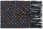 Paul Smith Tudor Rose print scarf