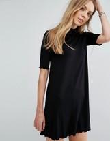 Pull&Bear Frill Sleeve Swing Dress