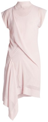 Nina Ricci Rober Gathered Asymmetric Dress
