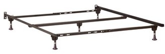 Alwyn Home Metal Bed Frame Size: Twin XL/Twin/Full/Queen
