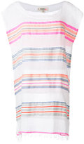 Lemlem stripes detail mini dress