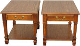 One Kings Lane Vintage Mersman Side Tables, Pair