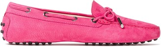 Tod's Heaven Bow-detailed Nubuck Loafers