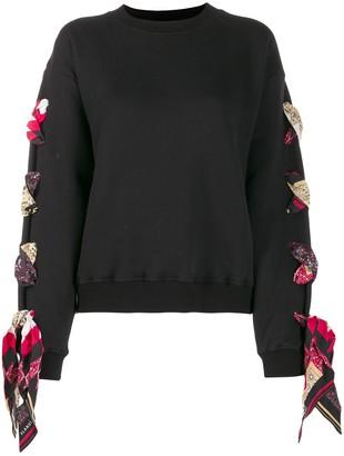 Alanui lace-up sweatshirt