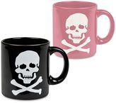 Waechtersbach Skulls His & Her 2-pc. Mug Set