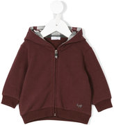Il Gufo zipped hoodie - kids - Cotton/Elastodiene - 6 mth