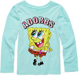 SpongeBob Squarepants Sponge Bob Long-Sleeve Adorbs Tee - Preschool Girls 4-6x
