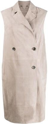 Desa 1972 Sleeveless Mid-Length Coat