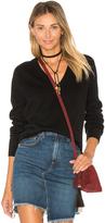 Vince Low V Neck Sweater