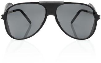 Saint Laurent Classic 11 Blind Spoiler aviator sunglasses