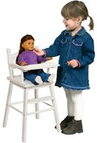 Guidecraft Doll High Chair in White by