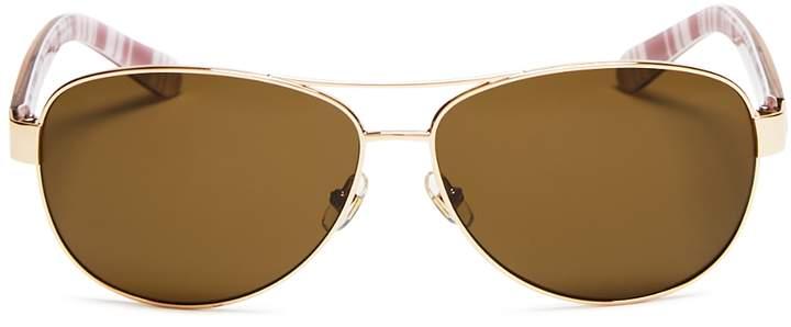 Kate Spade Women's Polarized Dalia Sunglasses, 58mm