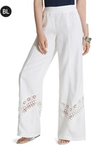 Chico's Lace-Inset Pants