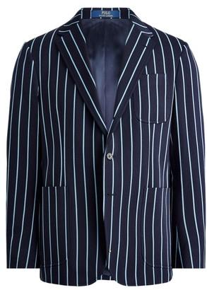 Ralph Lauren Striped Wool Blazer