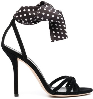 Philosophy di Lorenzo Serafini Polka Dot Bow Sandals