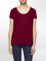 Calvin Klein Solid Splitback T-Shirt