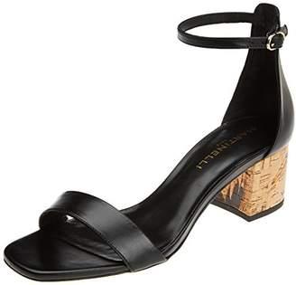 Martinelli Women's FREYRE 1354-5065N Ankle Strap Sandals, Black (Black Black)