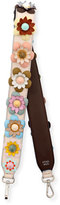Fendi Strap You Floral Shoulder Strap for Handbag, Multi
