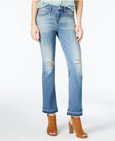 William Rast Cropped Flared Jeans