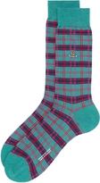 Vivienne Westwood Jade Check Socks Multi Size M
