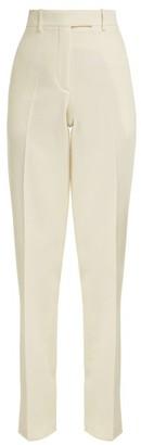 Calvin Klein Side-striped Wool Trousers - White