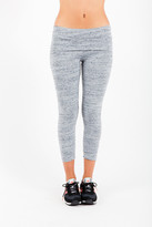 Saint Grace Fold Over Crop Legging In Storm